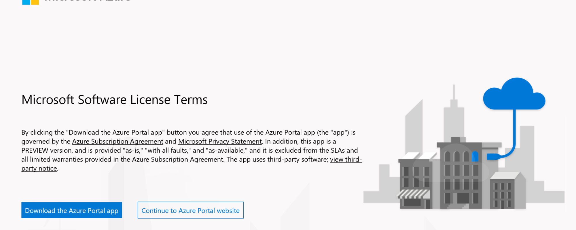 Download Azure Portal App
